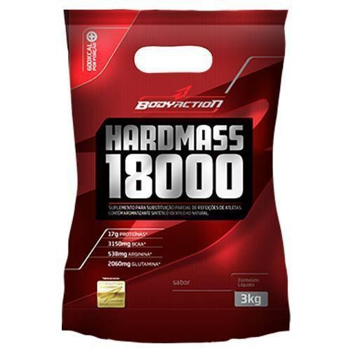 Hard Mass 18000 - 3000g Sabor Morango - BodyAction