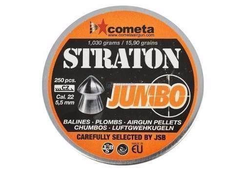 Kit 2 Chumbinho Jsb Cometa Straton Jumbo 5.5mm 250un