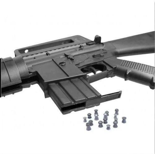 Kit Carabina Pressão Rossi Rifle M-16 R 5,5mm + Capa + Luneta