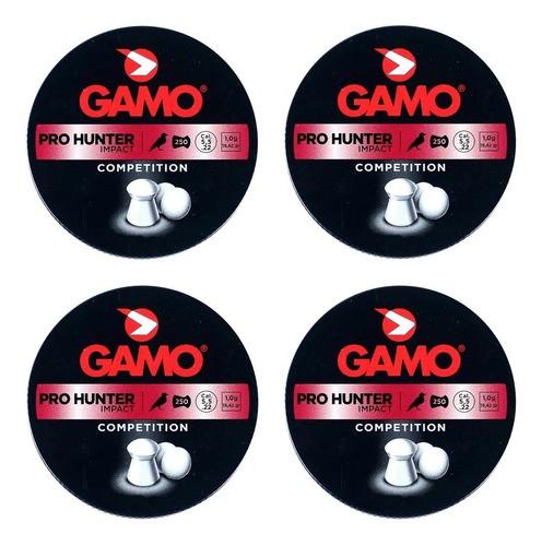 Kit Chumbinho Gamo Pro Hunter Impact 1000un 5.5mm