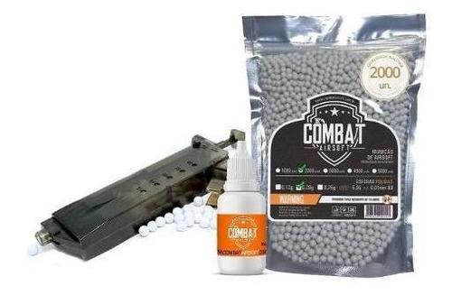 Kit Oleo Silicone + Speed Loader Cyma + 2000 Bbs Combat 0.20