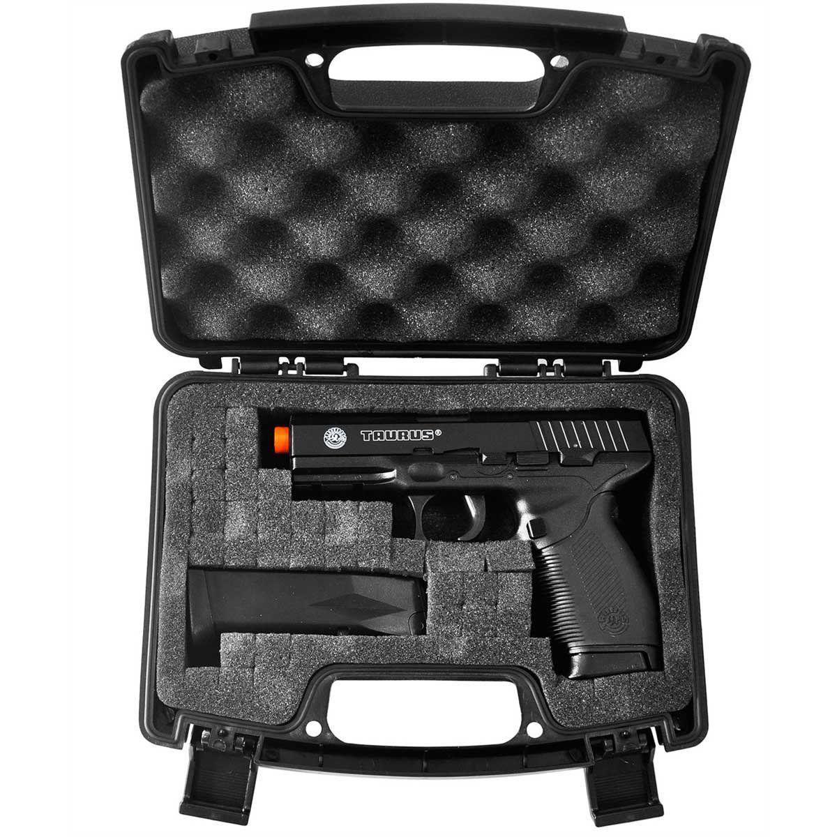 Kit Pistola Airsoft Co2 Sigsauer Sp2022 6mm Slide Metal Fixo + Maleta NTK + 2000 BBs  - Combat Airsoft