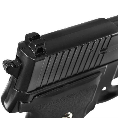 Kit Pistola Airsoft Galaxy G26 Full Metal + 2000 Bbs Combat
