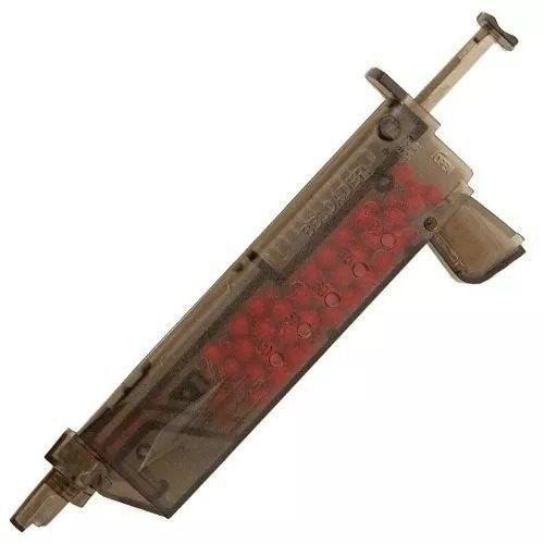Kit Pistola Airsoft Glock G15 Full Metal 6mm + Speed Loader + Óleo de Silicone