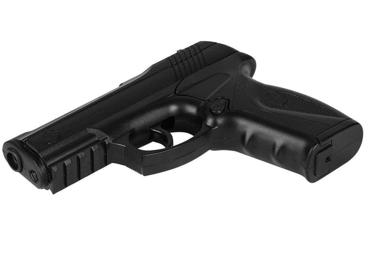 Kit Pistola Pressãoc11 Polímero +1500 Esferas +10 Co2 + Case