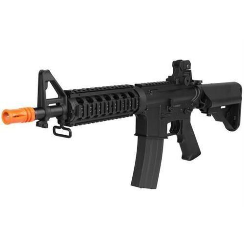 Kit Rifle Airsoft Elétrico M4a1 Cm506 Cqb + Pistola R17 Gbb