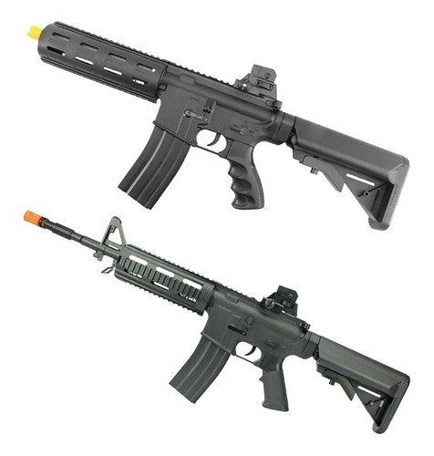 Kit Rifles Airsoft Vigor Vg8912 Ar Riper + Vg8913 M4 Swat