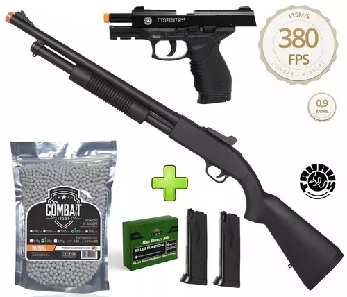 Kit Shotgun Spring Airsoft Rifle Cyma Zm61a 6mm