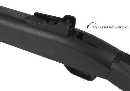 Kit Shotgun Spring Airsoft Rifle Cyma Zm61a 6mm +4000 Bbs