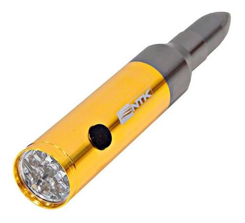 Lanterna Ntk Blow Formato Munição Calibre .50 - 50 Lumens