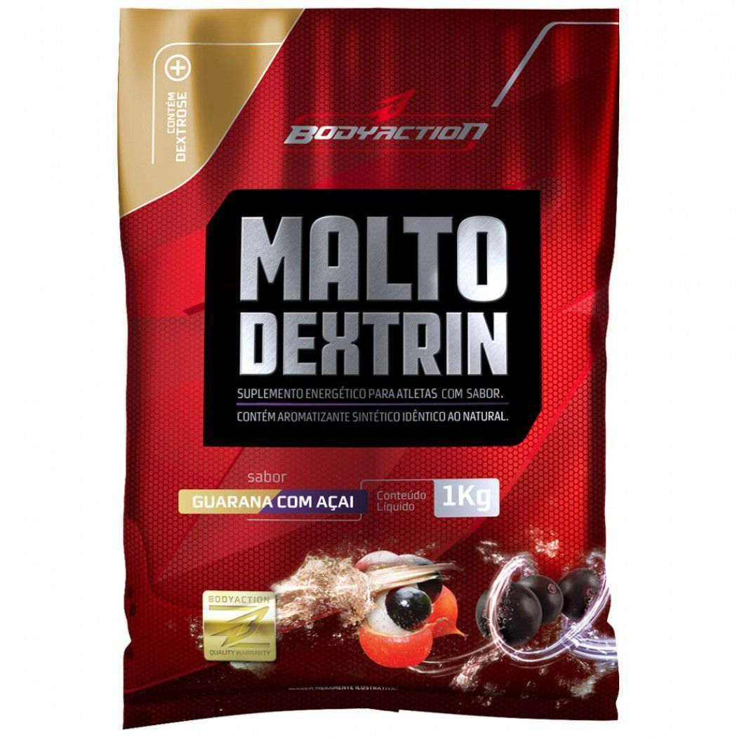 Malto - 1000g guarana com açai - BodyAction