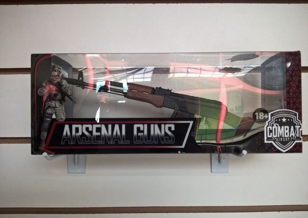 Miniatura Decorativa em Metal AK74 Classic - Arsenal Guns