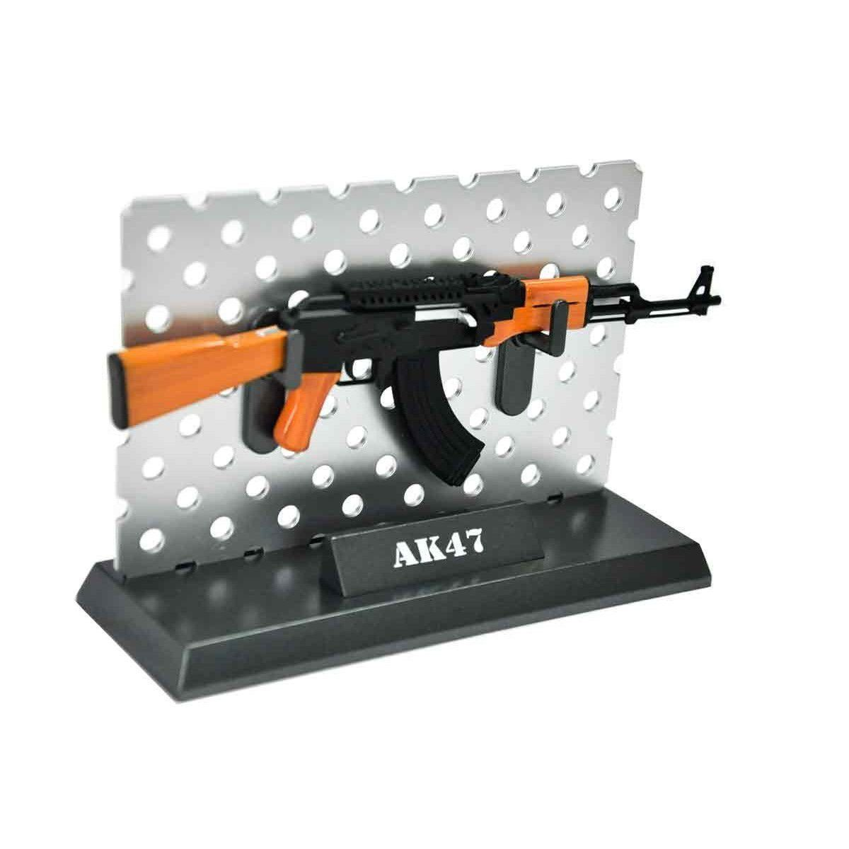 Miniatura Decorativa Rifle Ak-47 Arsenal Guns