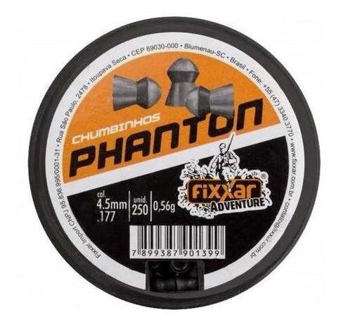 Munição Chumbinho Carabina Fixxar Phanton 4.5mm 250un