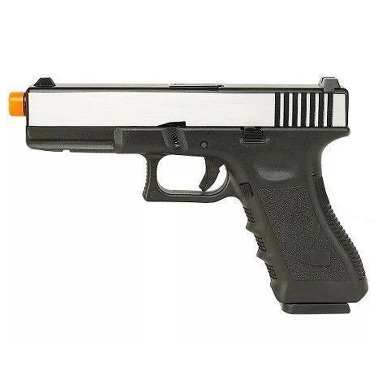 Pistola Airsfot Glock R17 Gbb Army Black/silver Mostruário
