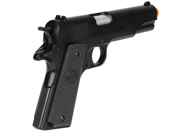 Pistola Airsoft 1911 Spring KWC 6mm ABS