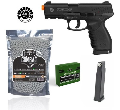 Pistola Airsoft 24/7 Cybergun Co2 Slide Metal + 4000bbs