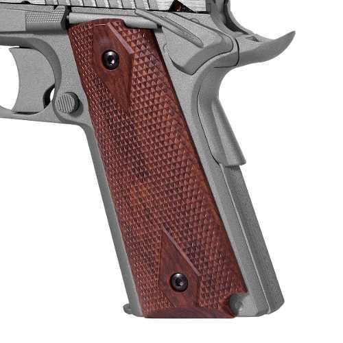 Pistola Airsoft Co2 Colt 1911 Rail Gun Stainless Nbb Cal. 6mm - Cybergun
