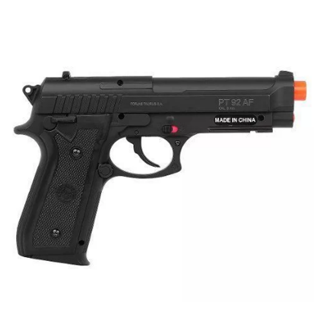 Pistola Airsoft Co2 Taurus Pt92 + Case + 5 cilindros Co2 + 2000bbs