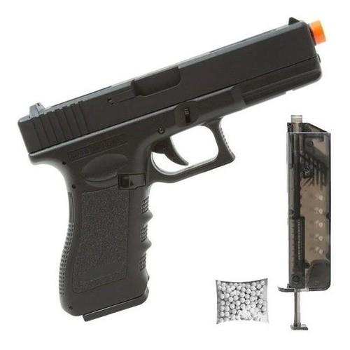 Pistola Airsoft Elétrica Glock 18c Cyma Cm.030s Mosfet Lipo