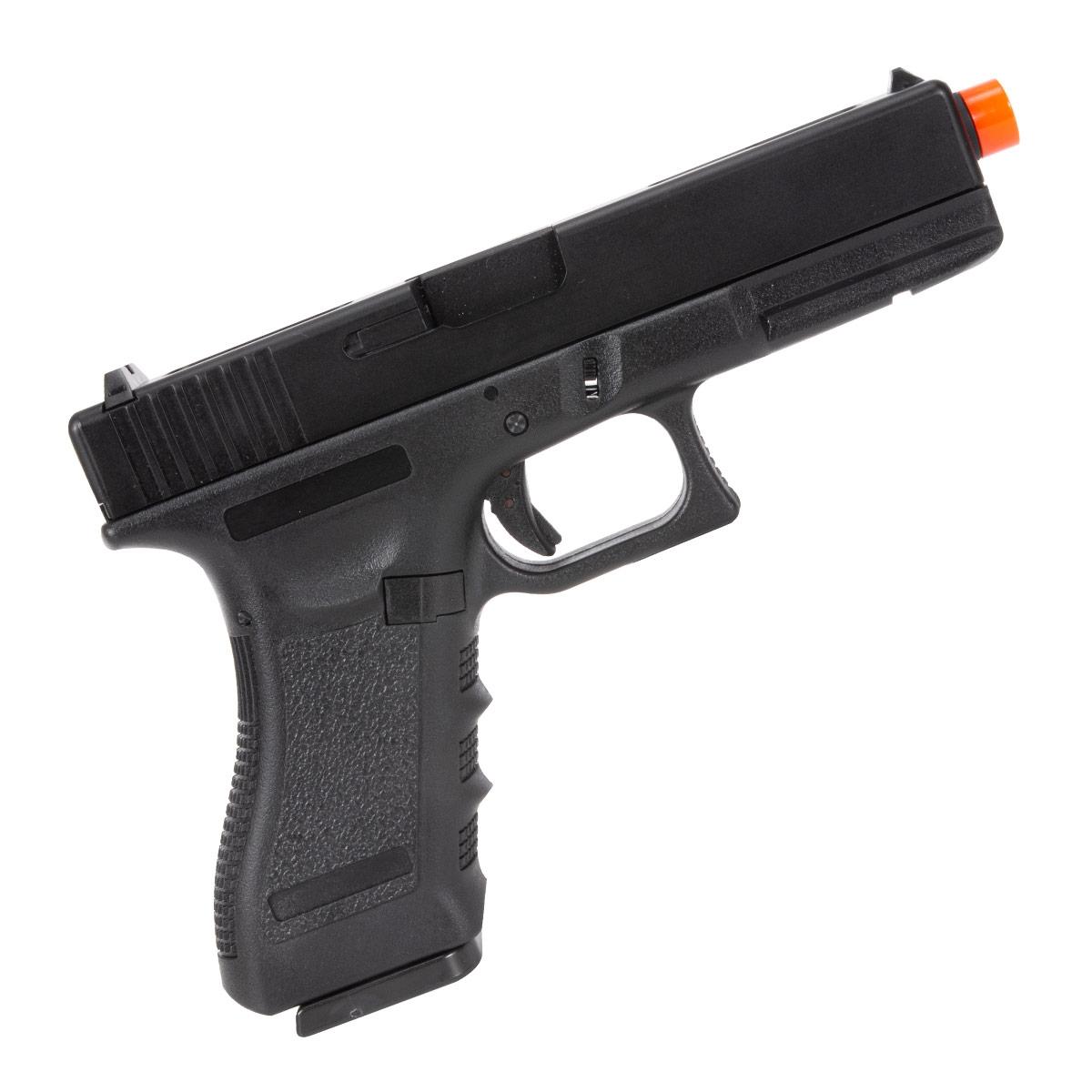Pistola Airsoft Full Auto Glock R18-BK Gbb Green Gas 6mm