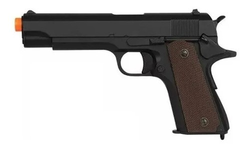 Pistola Airsoft Gbb Blowback Army Armament R31-bk Mostruário
