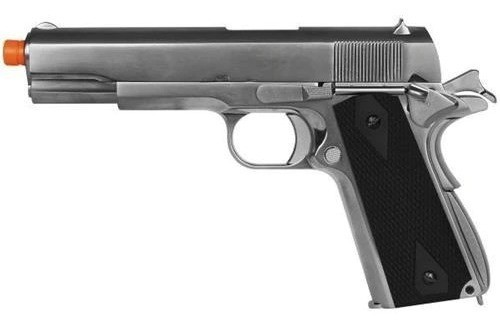 Pistola Airsoft Gbb We 1911 Matte Black Gen2 Full Metal