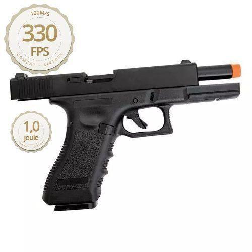 Pistola Airsoft Glock Army R17-Bk - Gbb - Slide Metal 6mm