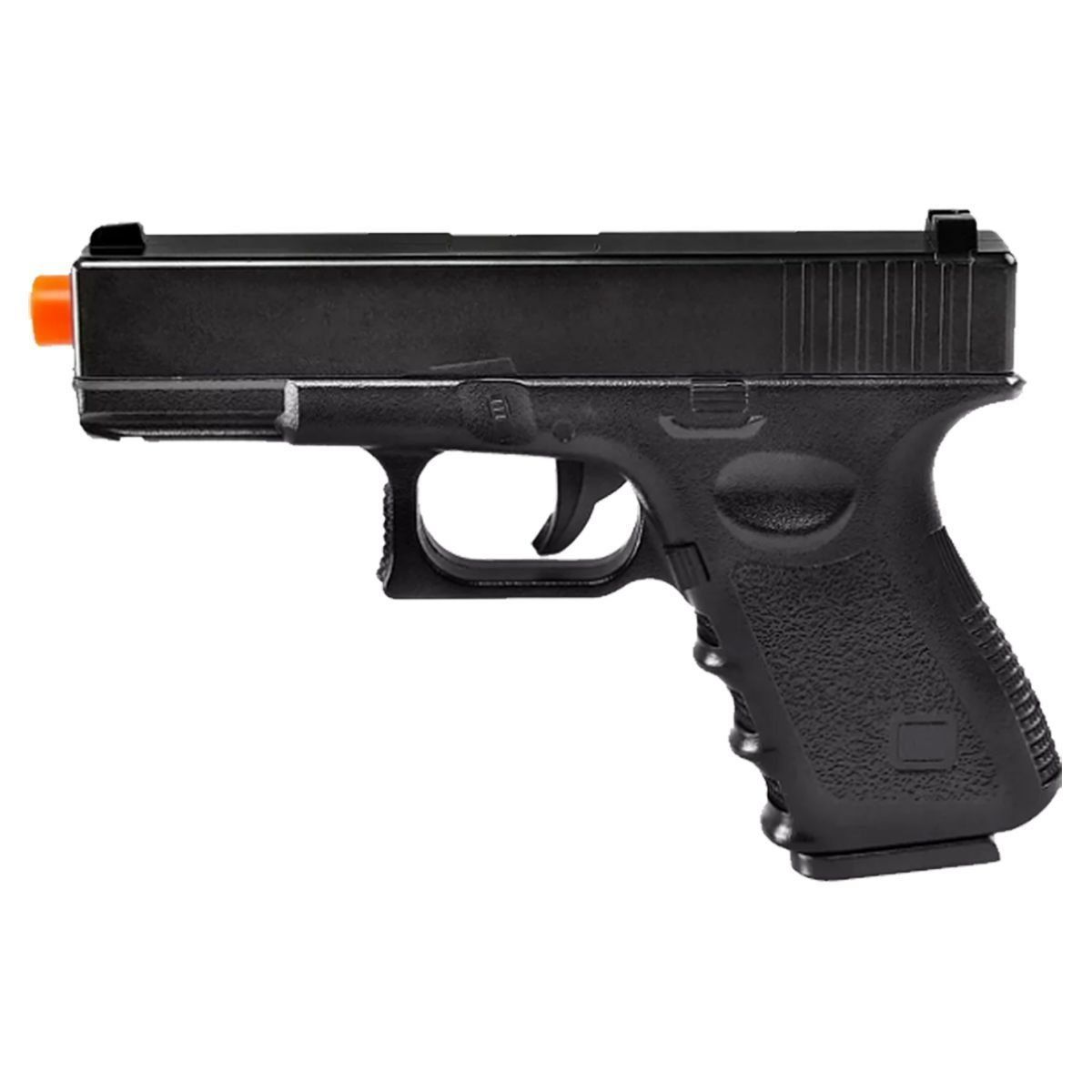 Pistola Airsoft Glock G15 Full Metal Mola Mostruário + Coldre