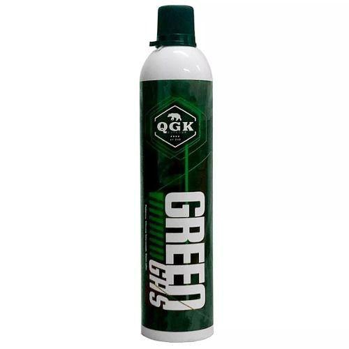 Kit Pistola Airsoft Greengás Glock R17 Polímero Blowback + Green Gás