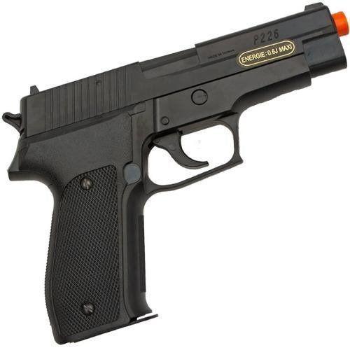 Pistola Airsoft Sig Sauer P226 Polímero Spring Training Series 6mm Cybergun