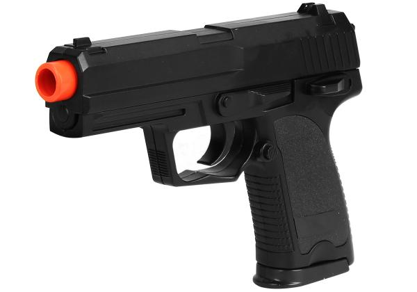 Pistola Airsoft Spring Cyma ZM20 USP Compact Fullmetal