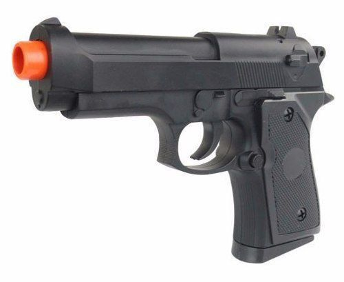 Pistola Airsoft Spring Cyma ZM21 Beretta Compact FullMetal