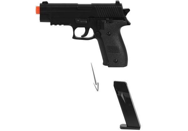 Pistola Airsoft Spring Cyma ZM23 P226 Compact FullMetal