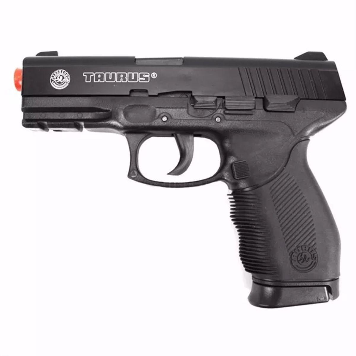Pistola Airsoft Spring Cybergun PT24/7 Cybergun 6mm + Magazine Extra