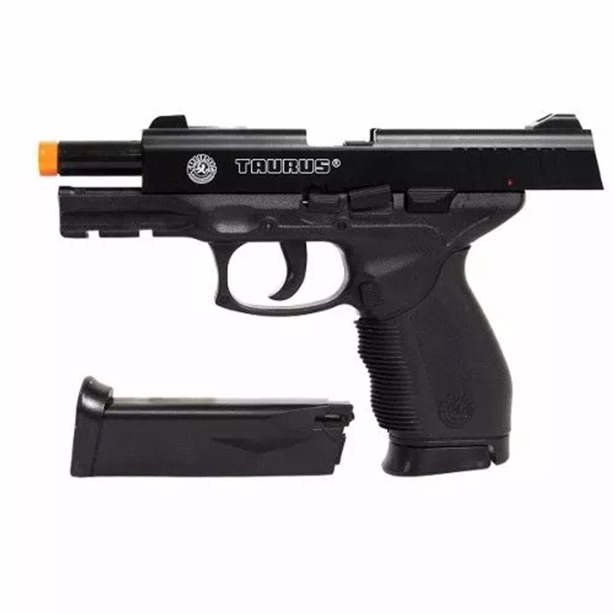 Pistola Airsoft Spring Taurus PT24/7 Cybergun + Magazine Extra - 6mm  - Combat Airsoft
