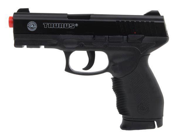 Pistola Airsoft Spring Taurus PT24/7 Cybergun + Magazine Extra - 6mm