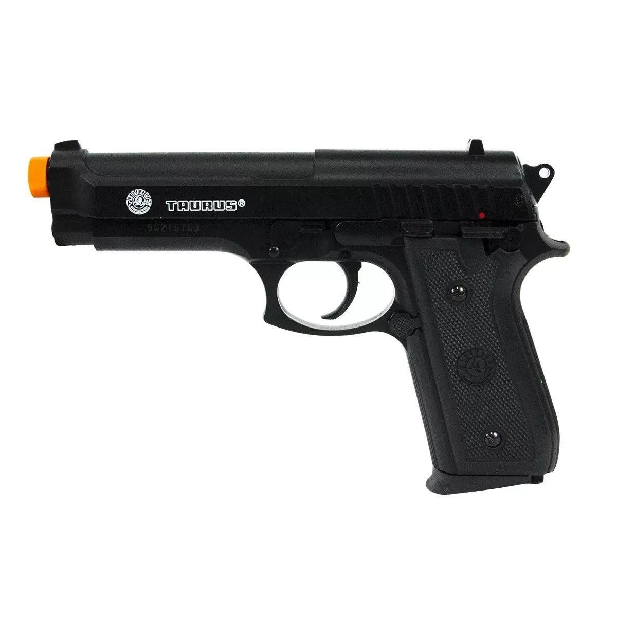Pistola Airsoft Pt92 Slide Metal Spring