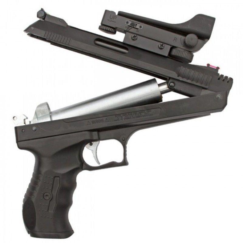 Pistola Beeman 5.5 Red Dot+ Case + Chumbinhos + Óculos  - Combat Airsoft