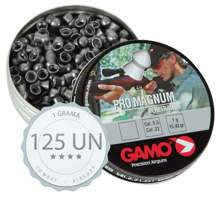 Pistola Beeman 5.5 Red Dot+ Case + Chumbinhos + Óculos