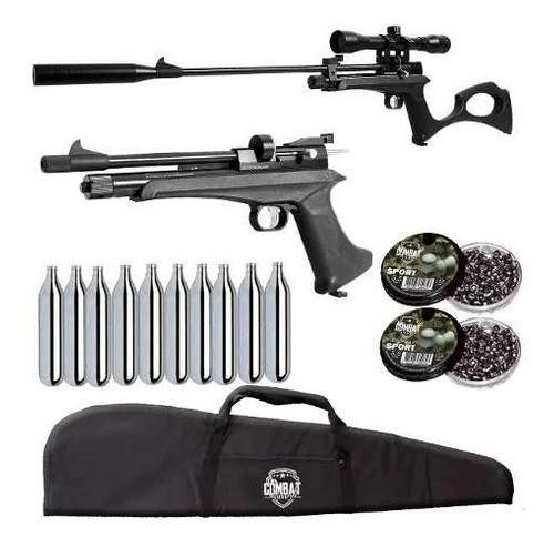 Pistola Carabina Co2 Artemis Cp2 5.5 + Luneta + Acessórios