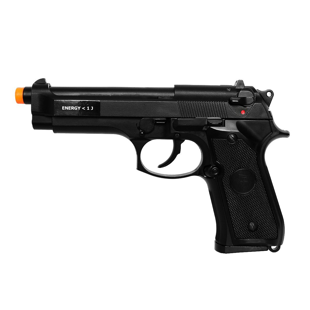 Pistola De Airsoft Green Gas Saigo Skyway Beretta 92 Black