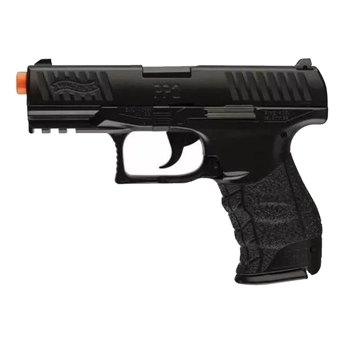 Pistola de Airsoft Walther PPQ HME Full Metal Spring 6mm MOSTRUÁRIO