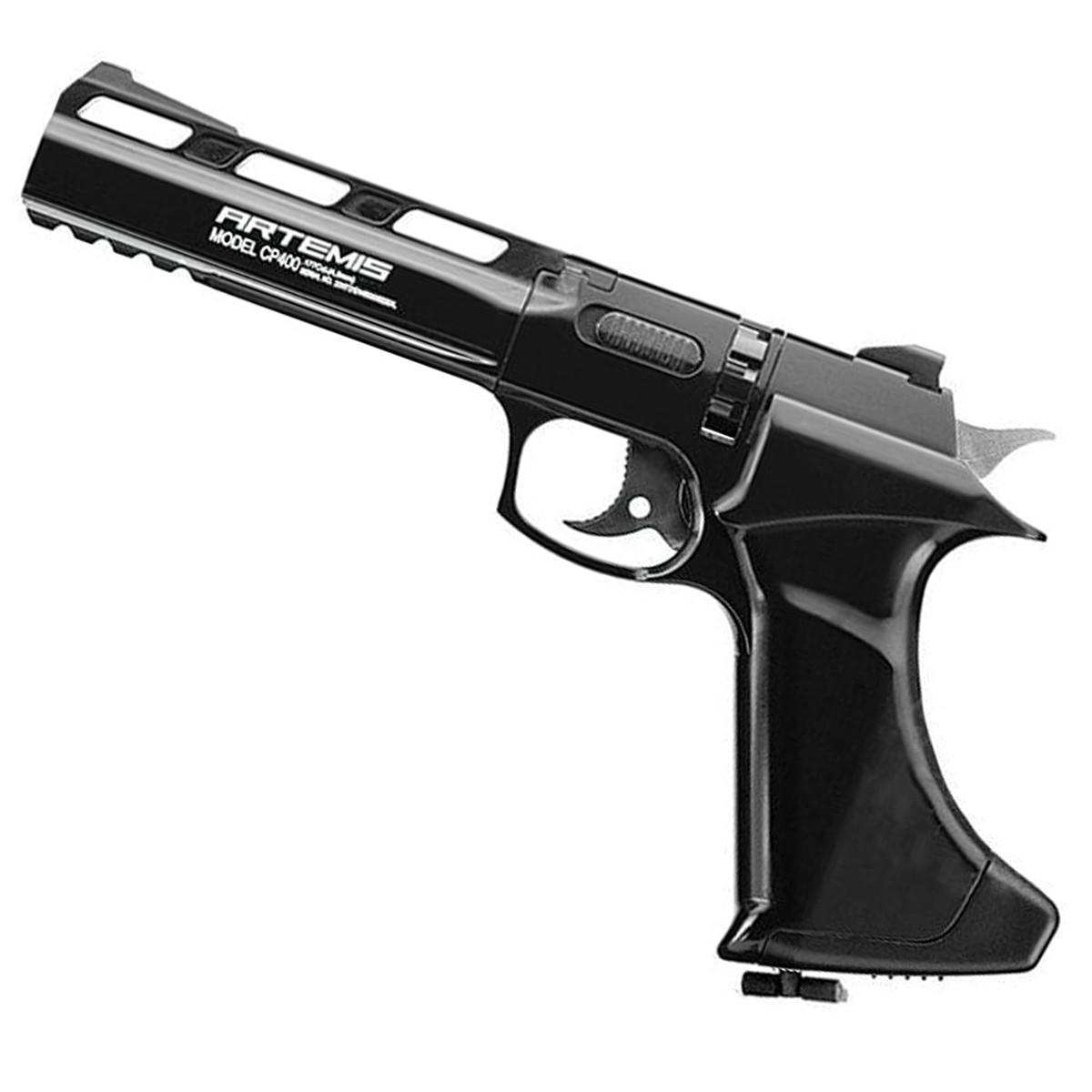 Pistola De Pressão Artemis CP400 Orion CO2 Chumbinho 4.5mm