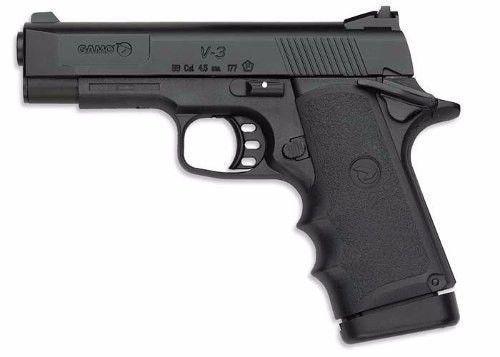 Pistola De Pressão Co2 Gamo V-3 Painted 15 Tiros 4.5mm