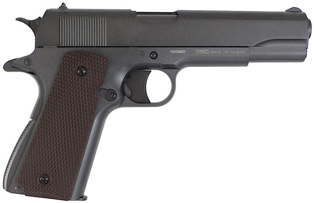 Pistola De Pressão Co2 Kwc M1911 Slide Metal Chumbinho 4,5mm