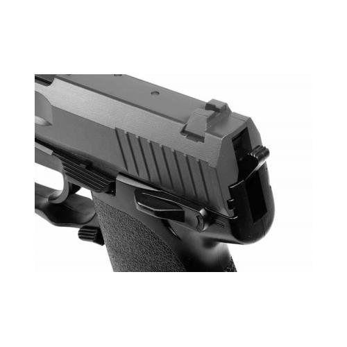Pistola de Pressão HK USP Co2 FullMetal 4.5mm + Cilindro  - Combat Airsoft