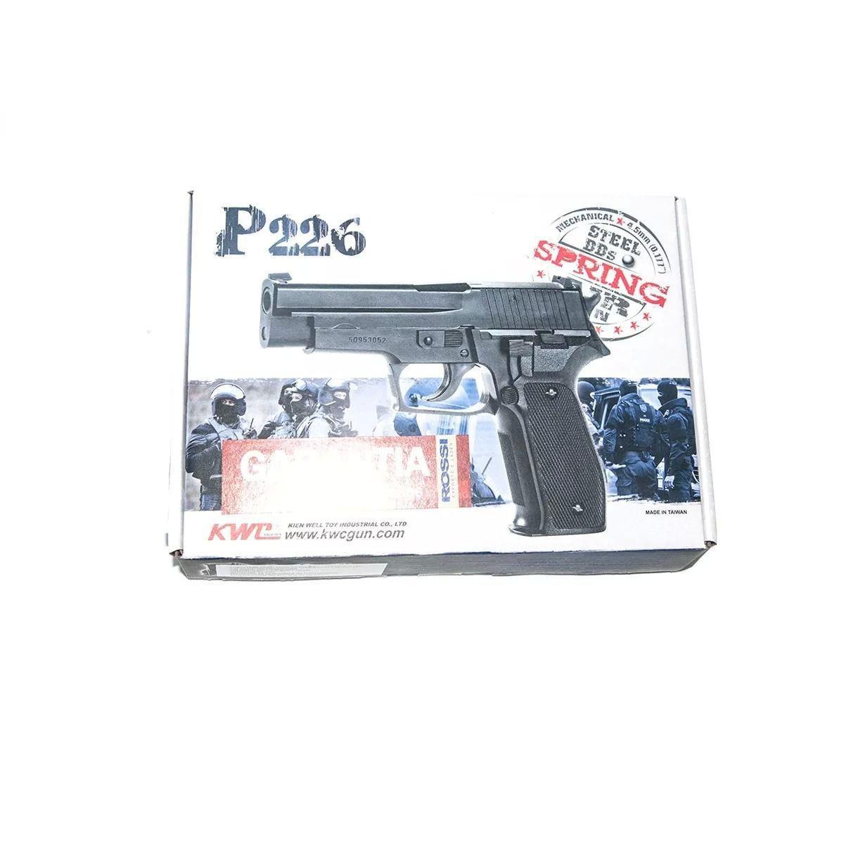 Pistola De Pressão Sig Sauer P226 4,5mm Metal