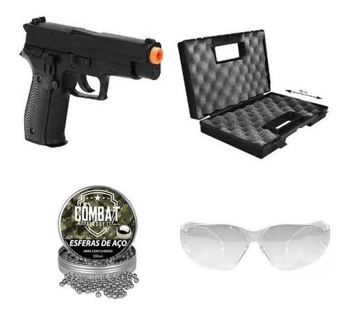 Pistola De Pressão Sig Sauer P226 4,5mm Metal + Acessórios