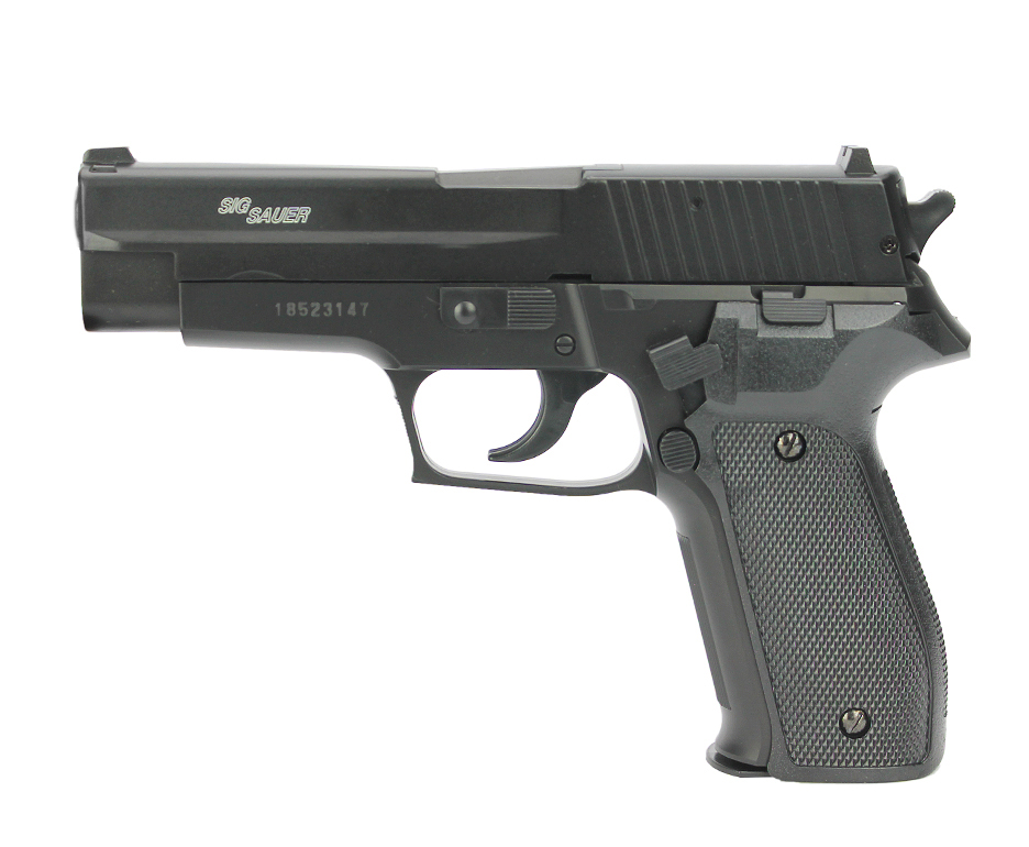 Pistola De Pressão Spring Sig Sauer P226 Slide Metal 4,5mm Cybergun